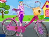 Barbie Vélo De Lavage Et De Réparation