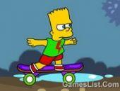 Bart Simpson Aventure en ligne bon jeu