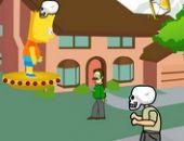 Bart Simpson Zombie Jeu