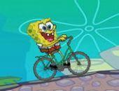Bob L'Éponge Balade À Vélo