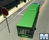 Bus De La Ville De Stationnement