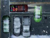 Camionnette Nuit Le Parking