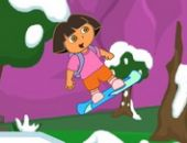 Dora Snowboard Jeu