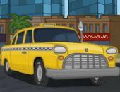 En voiture Ville En Taxi