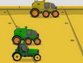 Futuriste De Course De Tracteur