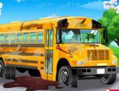 L'Autobus De L'École De Lavage De Voiture