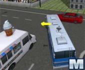 L'École De Stationnement D'Autobus 3D