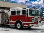 L'Hiver Camion De Pompiers