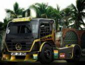 La Ville Côtière De Camions en ligne jeu