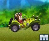 Le singe Kart