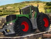 Les Courses De Tracteurs Jeu