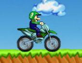 Libre Luigi Motocross Jeu