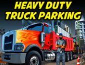 Lourd Devoir Les Camions Parking jeu en ligne