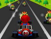 Mario Course De Vitesse en ligne bon jeu