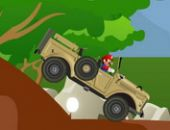 Mario Jeep La conduite de montagne
