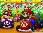 Mario Kart Jeu Clignoter