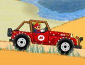 Super Mario Plage En Voiture