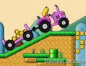Mario tracteur rose 3