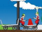Monsieur Le Chariot De La Livraison Express