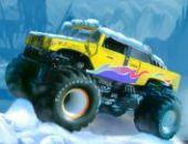 Monstre Camion Voyage Saisons: L'hiver en ligne jeu