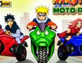 Naruto Moto De Course Mini