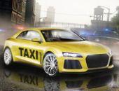 Nouvelle Ville Chauffeur De Taxi