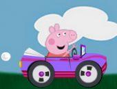 Peppa Cochon Voiture De Course