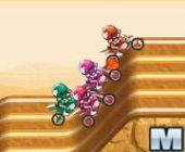 Pro Motocross Coureur