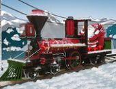 Santa Train À Vapeur De Livraison