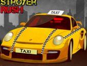 Taxi destructeur précipiter Jeu