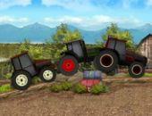 Tracteur de la course du temps