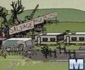 Zombie Remorque Parc