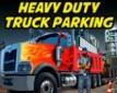 Lourd Devoir Les Camions Parking